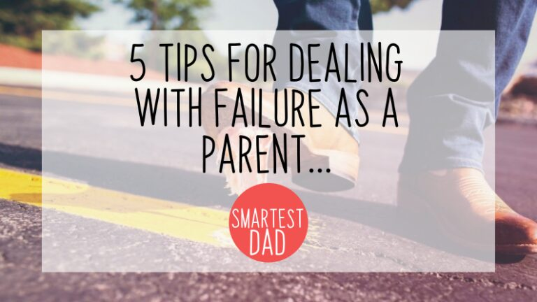 Dealing with failure is an important skill for kids, and parents to learn...