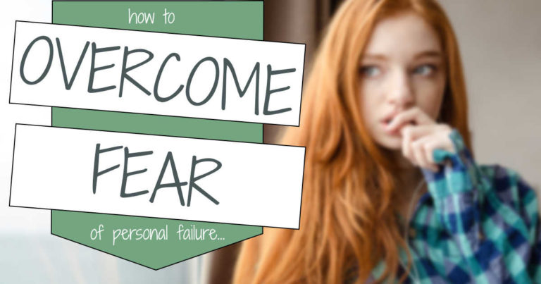Fear of Personal Failure is the most common phobia related to success